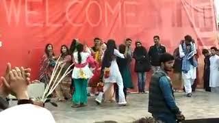 Girls Dance in Lahore Leads University