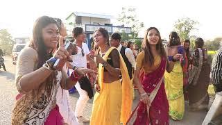 Tharu | tharu girls wedding dance at hareiya chitwan