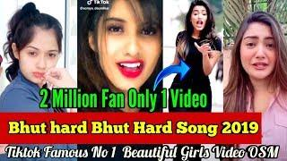 Bhut hard video, #Tiktok Video 2019 #Musically #Emiway, Most Populer Tiktok Video Beautiful Girls,