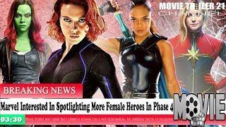 Marvel Movie News!!! Marvel Interested In Spotlighting More Female Heroes In Phase 4