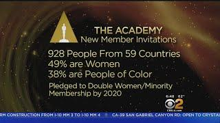 Film Academy Invites More Women, People Of Color To Join Its Ranks
