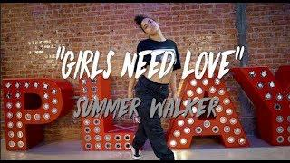 "Summer Walker - ""Girls Need Love"" 