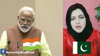 Pakistani Girl Reply To Modi and Indian Media Over Indian Pilot Abhinandan