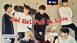 BTS FF INDO { Bad Girl Fall In Love } Eps. #10