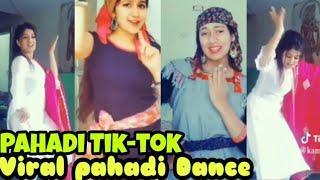 New Tik-tok Viral pahadi Nati dance videos by Girls,  Shimla-Sirmouri Nati,  Himachali songs