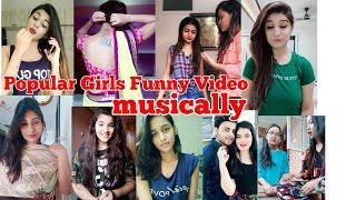 Girls Funny Video in tik tok musically I Girls Reaction in jokes I DSP I #DSP