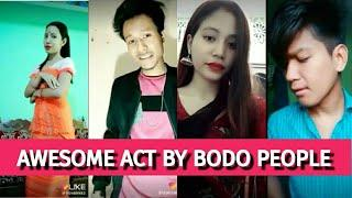 AWESOME ACT BY CUTE BODO BOYS AND GIRLS || NEW BODO LIKE APP VIDEO || A BODO LIKE APP TEAM