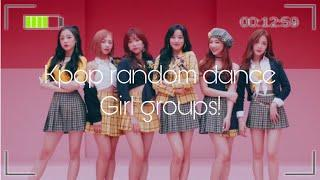 KPOP RANDOM DANCE GIRL GROUPS