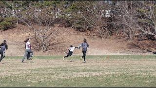 College Women's Ultimate Frisbee Highlights 2018