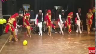 Boys And Girls Mala Dance on stage || Pahari natti