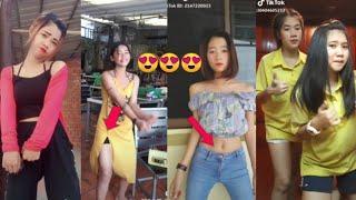 កំពូលបែកស្លុុយចេញមកហើយ???? Collections Girl Dancer in Tik Tok Bek sloy 2k19