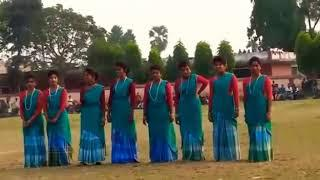 SANTALI GIRLS DANCE PERFORMANCE