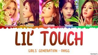 Girls' Generation-Oh!GG (소녀시대-Oh!GG) '몰랐니 (Lil' Touch)' Lyrics [Color Coded Han_Rom_Eng]