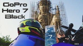 Gopro Hero 7 Black Unboxing/Samples | Girls Love Yamaha R15 V3 And Biggest Hero Hanuman Statue