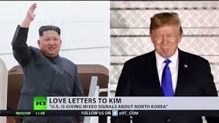 'We fell in love': Trump professes affection for Kim Jong-un despite sanctions