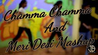 Chamma Chamma (Trap Remix) । Sonu Sir choreography ।  girls Dance । King of J.s.