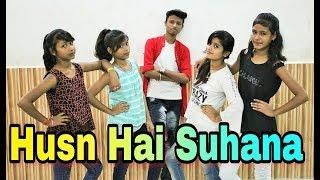 Husn Hai Suhana Hip-Hop Dance Performance For Girls | Best Dance Video | Hip-Hop Dance Performance