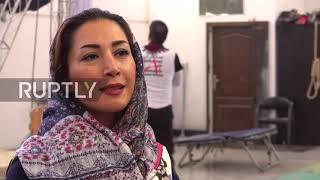 Female stunt performer pushes boundaries in Iran's film industry
