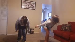 My girls dance routine