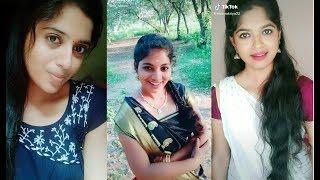 tik tok tamil dubsmash girls video \ cute tamil girl || on tik tok || musically#23