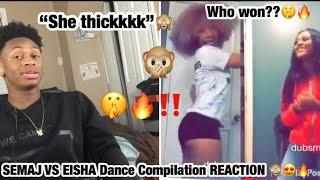 Eishaa vs Semaj ???? Girls Dance Battle ✨ Best Instagram Stars (REACTION ????????‼️)