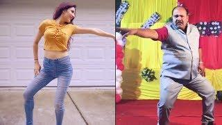 Girl VS Uncle Govinda Dance | Aap Ke Aa Jane Se Govinda Style Uncle Dance Viral Video Who is Better?