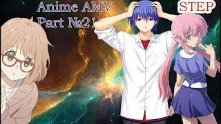 ANIME AMV MUSIC STEP №21 tik tok КЕША anime girls dance Mix
