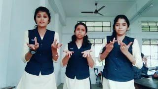 School Girls Kuthu Dance And Dubsmash Collections || School Girls Dance New