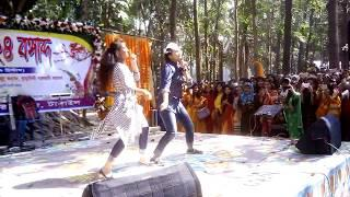 কুমুদিনী মহিলা কলেজ সুন্দরীদের বসন্তবরণ কনসার্ট নাচ | New College concert girls dance romance |