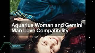 Aquarius Woman and Gemini Man Love Compatibility